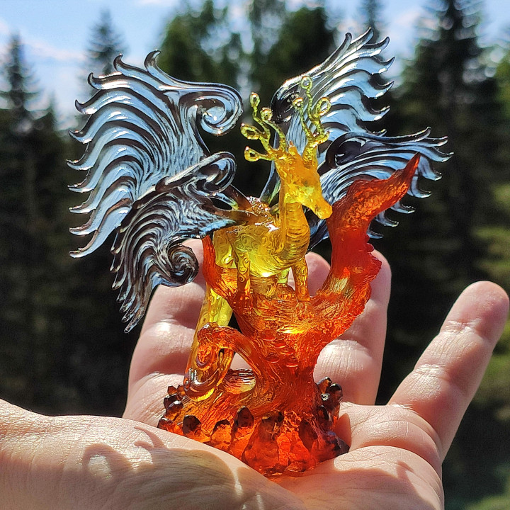 Eirvu, Dragon of the Fae