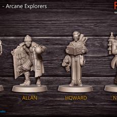 Arcane Explorers - 32mm - DnD -