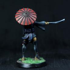 Picture of print of Kunoichi - Blood Orange Miniatures - Bonus Mini