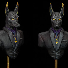 Picture of print of Modern Anubis