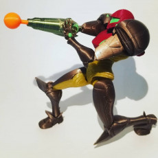Picture of print of Samus from Metroid - Articulated Figure