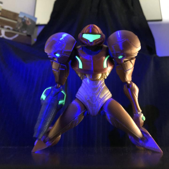 Samus from Metroid - Articulated Figure