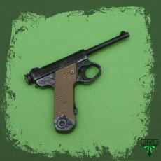 Type 14 Nambu pistol - scale 1/4