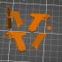 Type 14 Nambu pistol - scale 1/4 image