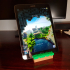 'Grass Block' Phone & Tablet Stand image