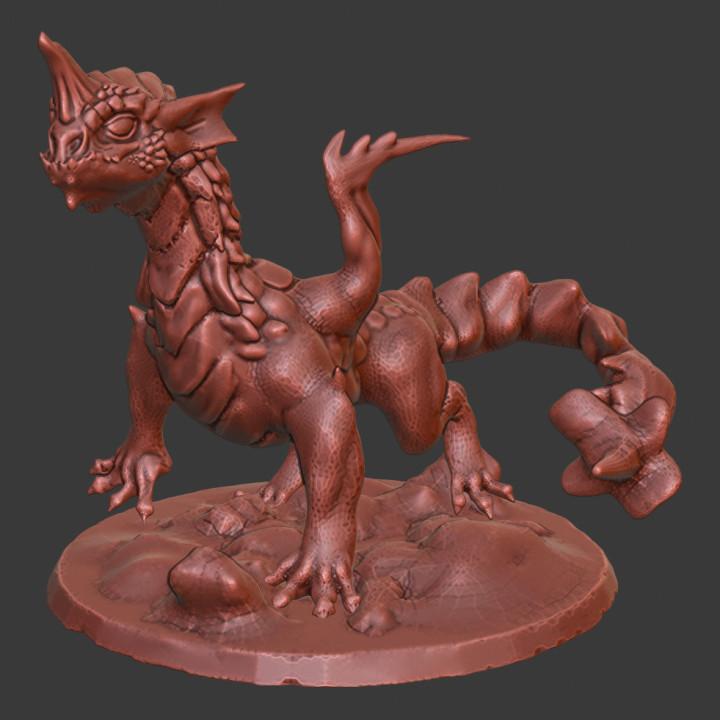Horned Dragon Wyrmling