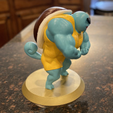 Picture of print of Ultra swole Squirtle