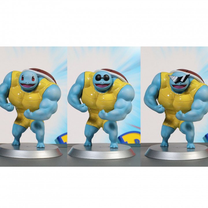 Ultra swole Squirtle