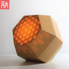 Hidden Honeycomb Light Box