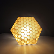 Picture of print of Hidden Honeycomb Light Box