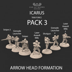 ICARUS TASK FORCE PACK 3 : ARROW HEAD FORMATION