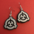 SCP Foundation Logo Earrings image