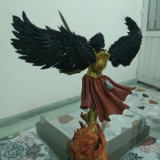 Picture of print of Archangel With Diorama