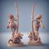 Lara the Dancer & Scourgy - Scourgeland Survivor Beauty (Fantasy Pinup) image