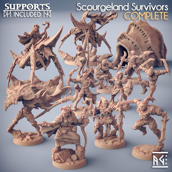 COMPLETE Scourgeland Survivors (Presupported)