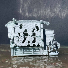 Picture of print of Viking Village FULL Modular SET