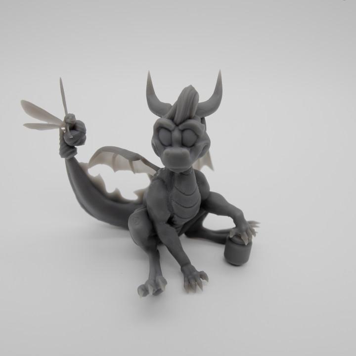 Spyro thje dragon, funart, funsculpt