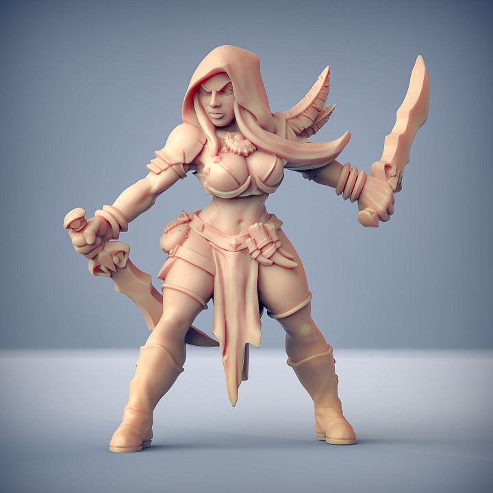 Livia Assassin Heroine (AMAZONS! Kickstarter)
