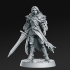 Lydia, the Lioness - Swordswoman - 32mm - DnD - image