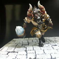 Picture of print of Taurinos - Minotaur Lord - 32mm - DnD -