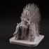 Sansa on the throne image