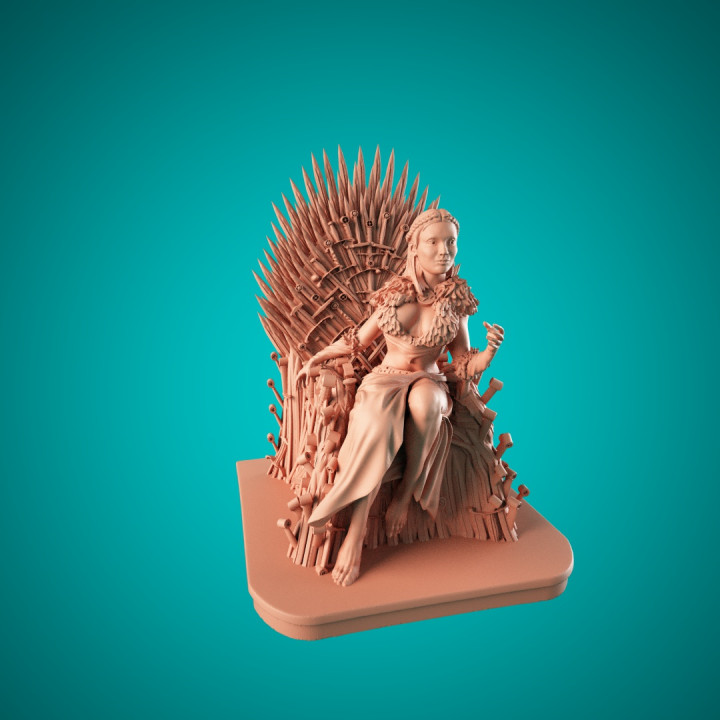 Sansa on the throne