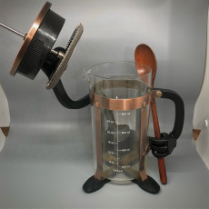 French Press Coffee Maker Stand