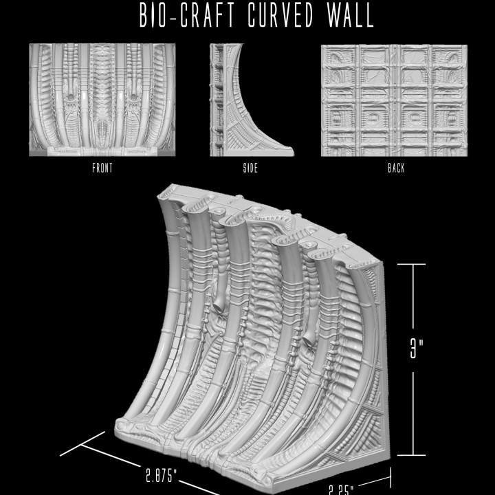 BIO-CRAFT Curved Wall