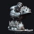 Wicked Marvel Hulk 3d Bust: Avengers STL ready for printing image