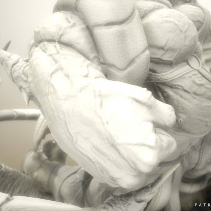 Wicked Marvel Hulk 3d Sculpture: Avengers STL ready for printing