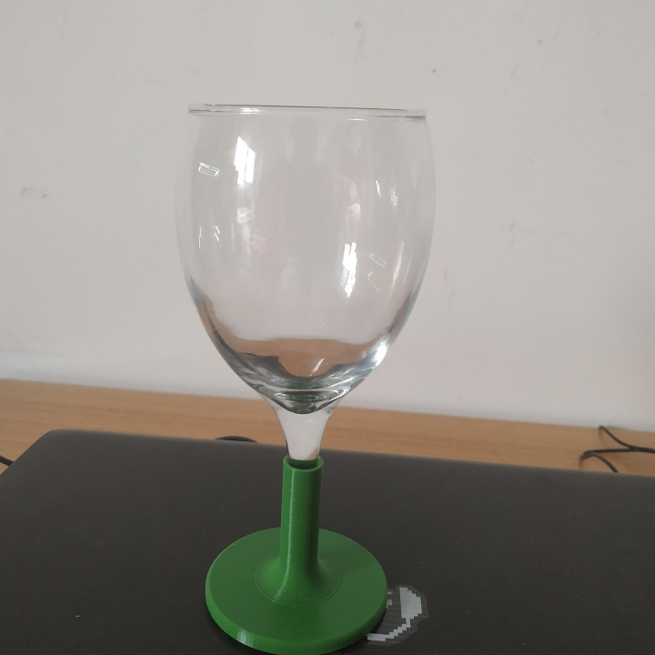 SUPPORT WINE GLASS - BROCKEN GLASS