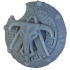 Greek Inspired Sci Fi Shield image
