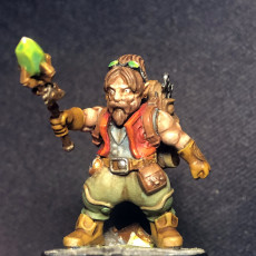 Picture of print of Gnome Artificer - Merchant Guilds