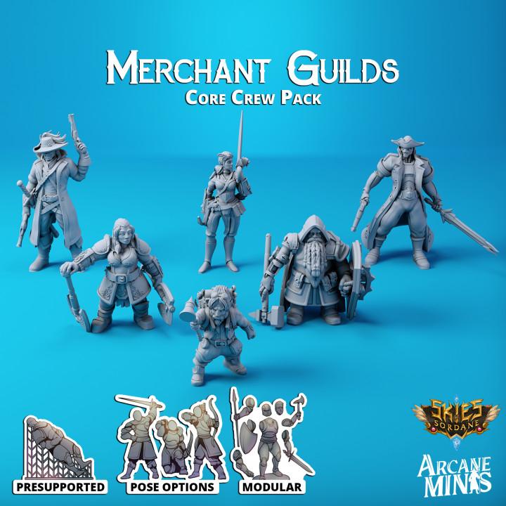 Merchant Guilds - Core Crew