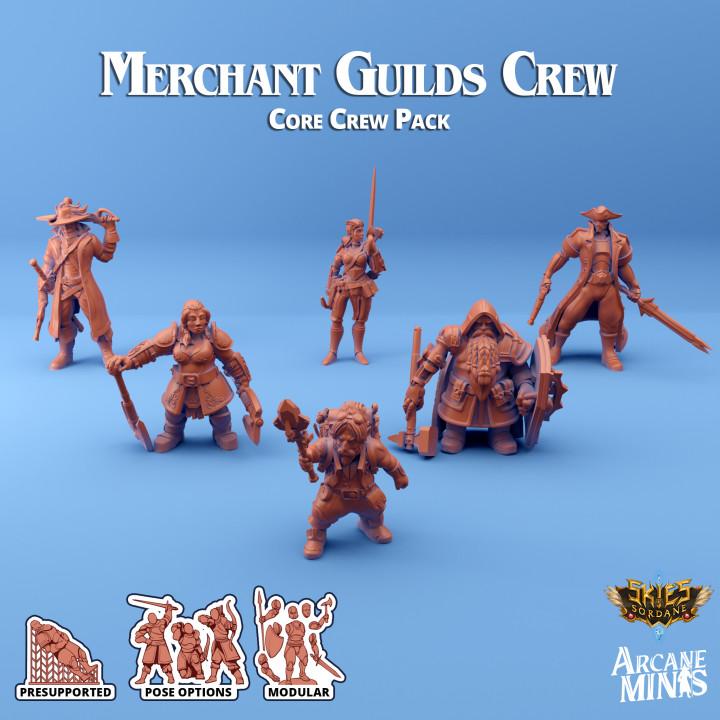 Merchant Guilds - Core Crew's Cover