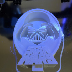 Picture of print of Star Wars Darth Vader Headphone Stand