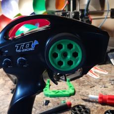 Traxxas TQi wheel (no supports)