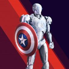 Captain America Shield