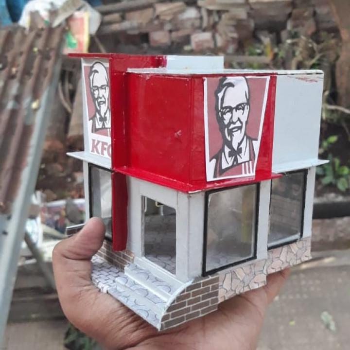 KFC Diorama