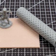 Diamond Plate Texture Roller