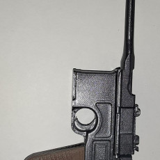 Picture of print of Mauser C96 red9 (inkl. SLA - STL) - scale 1/4