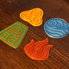 Avatar Element Combs