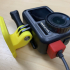 Dust cap with USB-C cable slot for DJI Osmo Action image