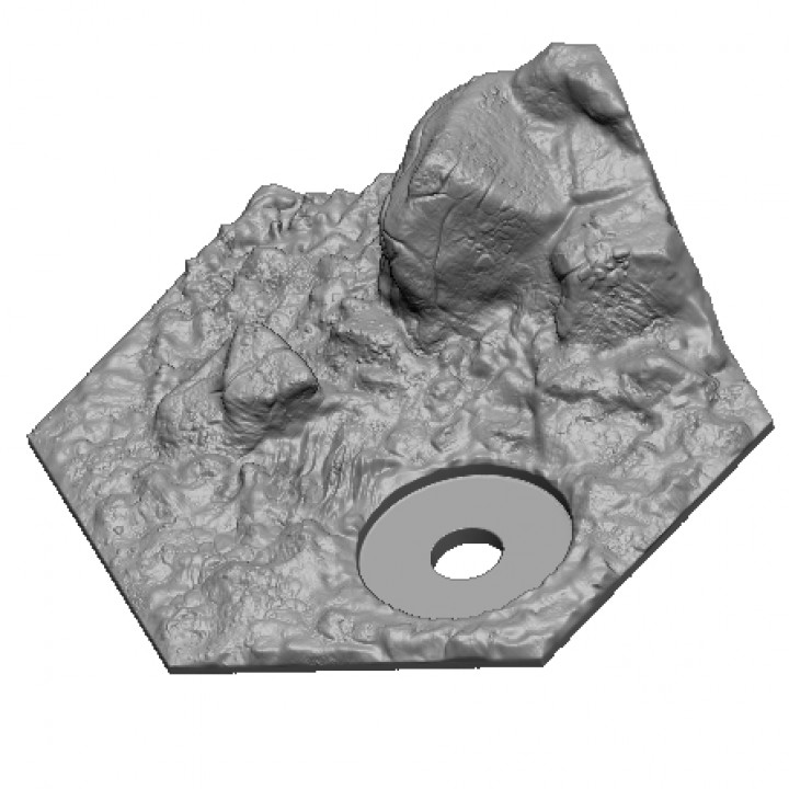 Hexhog Tabletops Hinterland Hills Test Sample Pack