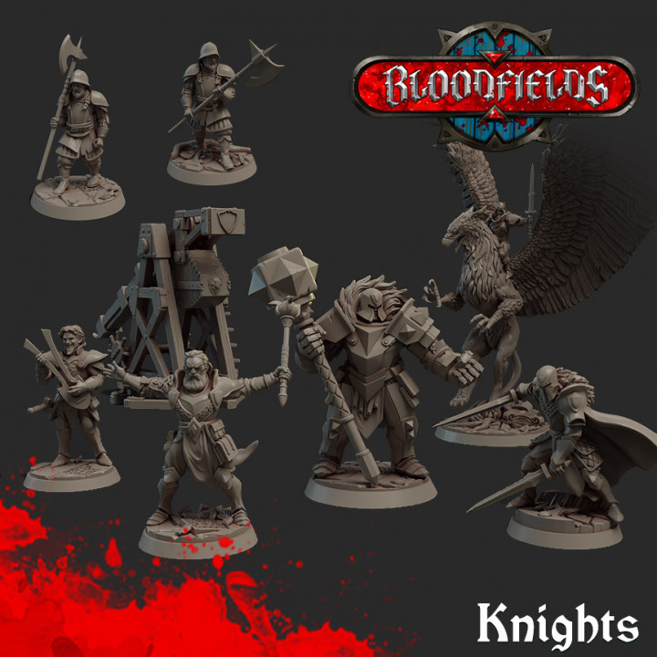 8x Knight Models's Cover