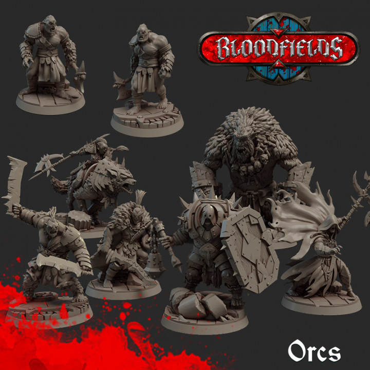 8x Orc Model's Cover