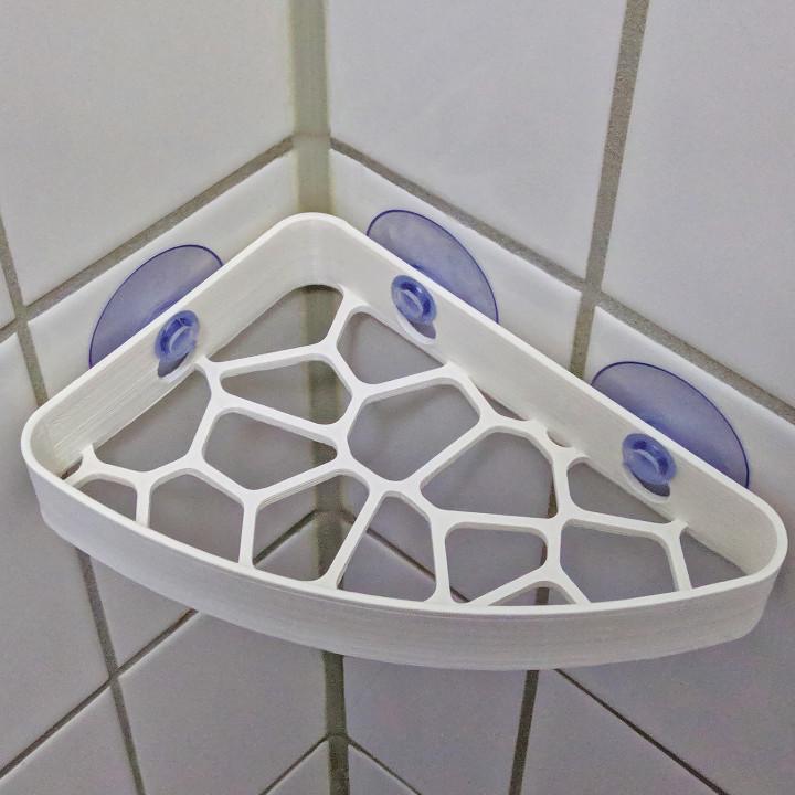 Voronoi Shower Shelf
