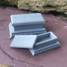 Altar or Tomb with removable lid for tabletop RPG games like DnD