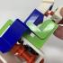 """Lora and I"", a Simple 3D Printed Automaton image"