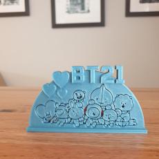 BTS BT21 ornament (version 2)